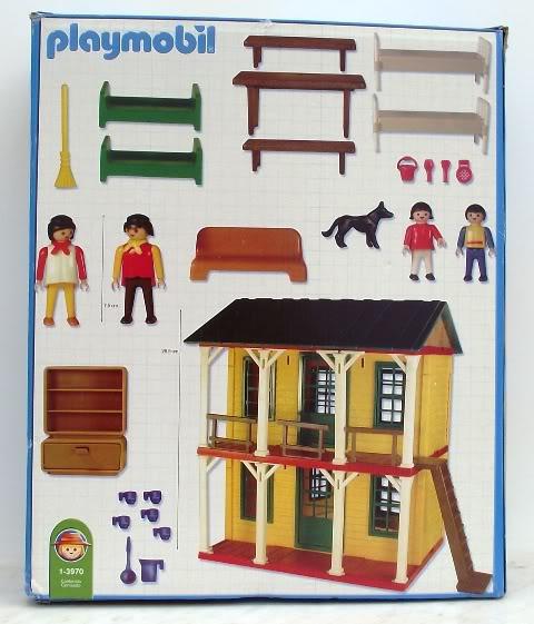 Playmobil 1-3970-ant - 2 Floor House - Back