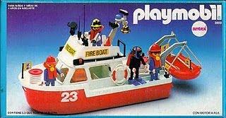 Playmobil 3999-ant - Firemen launch - Box