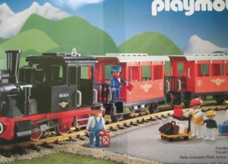 Playmobil - 4002-usa - Passenger Train Set