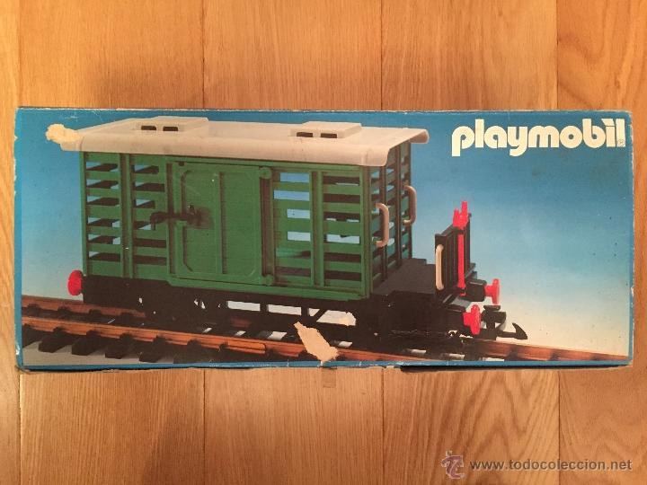 Playmobil 4101-fam - Cattle Car - Box