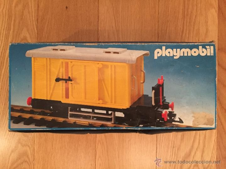 Playmobil 4102-fam - Cargo Wagon - Box