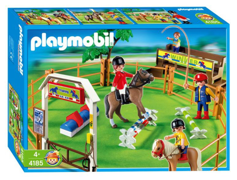 Playmobil 4185 - Dressage - Box