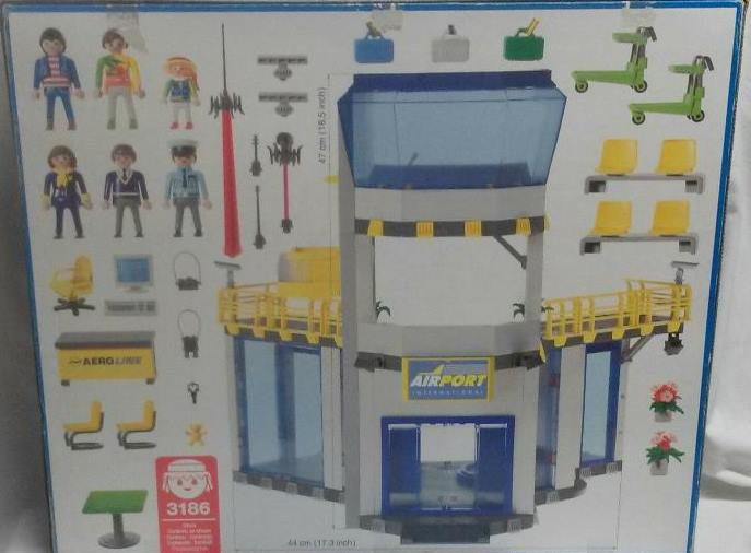 Playmobil 3186v2 - Gate With Tower - Back