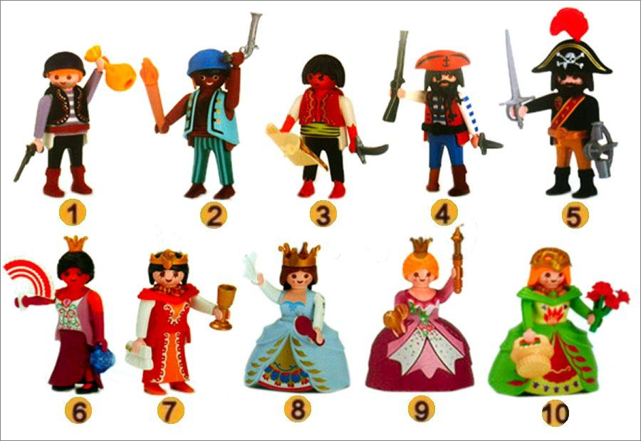 Playmobil 0000 - Quick Magic Box Pirate Set - Back