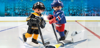 Playmobil - 9012-usa - NHL™ Blister Boston Bruins™ vs New York Rangers™