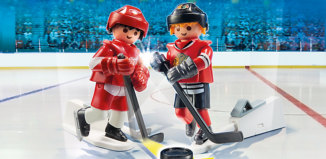 Playmobil - 9014-usa - NHL™ Blister Chicago Blackhawks™ vs Detroit Red Wings™