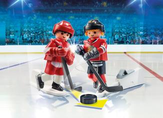 Playmobil - 9014-usa - NHL™ Blister Chicago Blackhawks™ vs Detroit Red Wings™