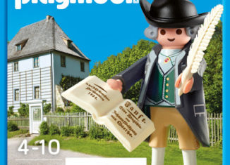 Playmobil - 9124-ger - Johann Wolfgang Goethe