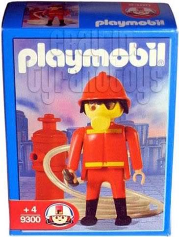 Playmobil 9300-ant - Fireman - Box