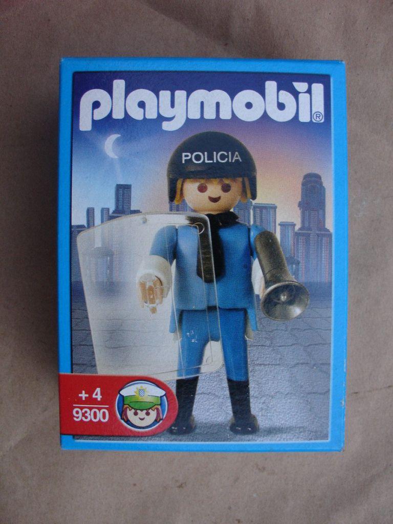 Playmobil 9300-ant - Policeman - Box