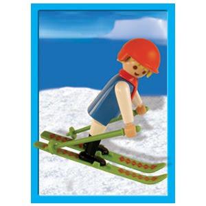 Playmobil 9300-ant - Skier - Box