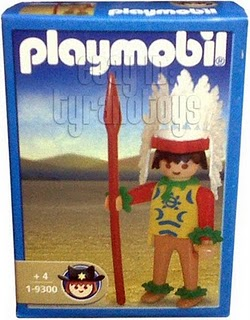 Playmobil 1-9300-ant - Indian Warrior - Box