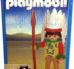 Playmobil - 1-9300-ant - Indian Warrior