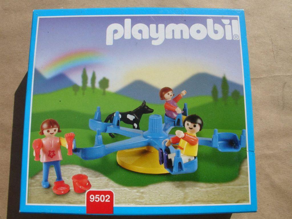 Playmobil 9502-ant - Merry-go-Round - Box