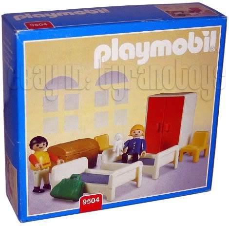. Playmobil Set  9504 ant   Bedroom   Klickypedia