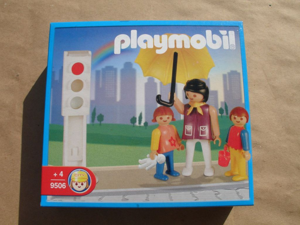 Playmobil 9506-ant - Mother with Children - Box