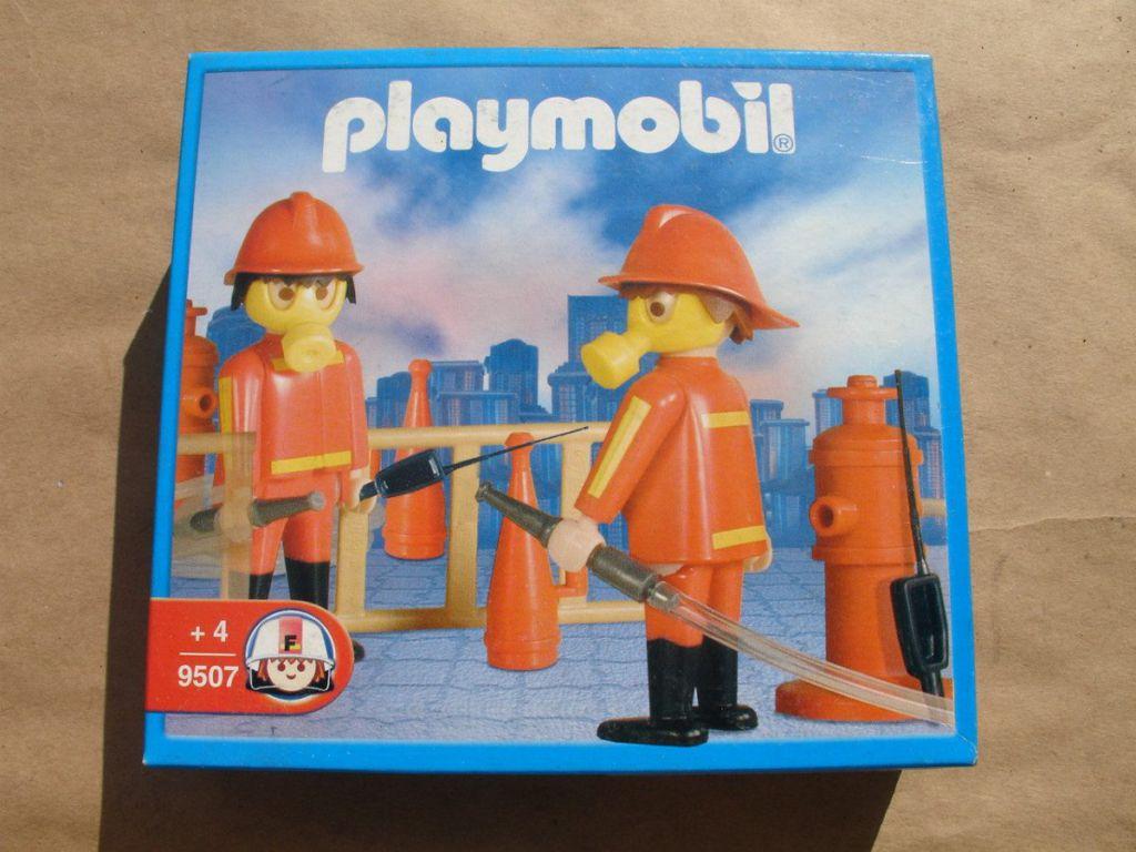 Playmobil 9507-ant - Two Firemen - Box