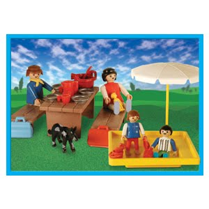 Playmobil 9510-ant - Picnic With Sandpit - Box