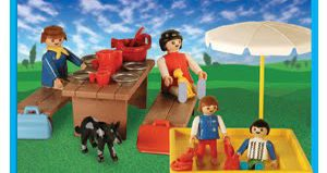 Playmobil - 9510-ant - Picnic With Sandpit