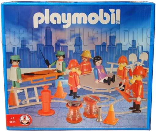Playmobil 9514-ant - Fire Rescue - Box