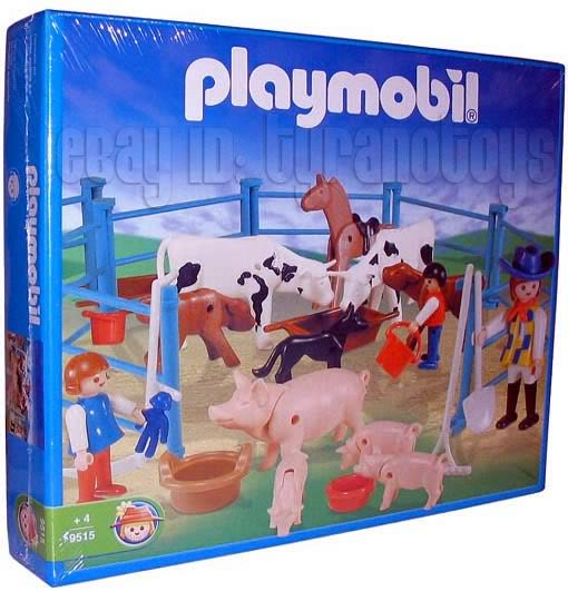 Playmobil 9515-ant - Pigs And Cows On The Farm - Box
