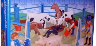 Playmobil - 9515-ant - Pigs And Cows On The Farm