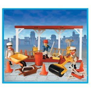 Playmobil 9517-ant - Builders At Work - Box
