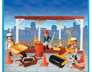 Playmobil - 9517-ant - Builders At Work
