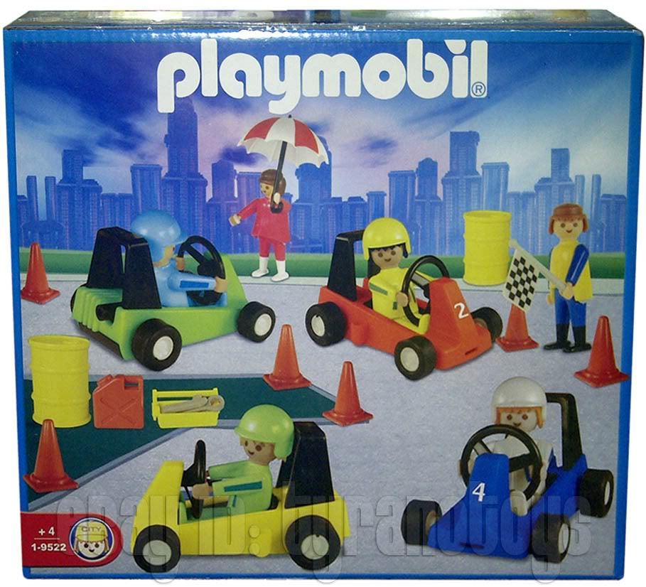 Playmobil 1-9522-ant - Go Karts - Box