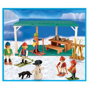 Playmobil 9524-ant - Ski Station - Box