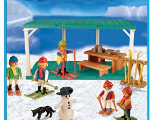 playmobil 9524 ant ski station