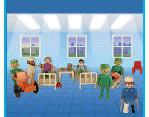 Playmobil - 9535-ant - Nurses and Patients
