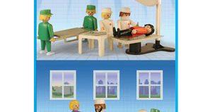 Playmobil - 9538-ant - Hospital Set