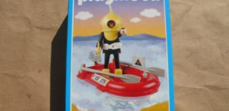 Playmobil - 9602v1-ant - Diver And Raft