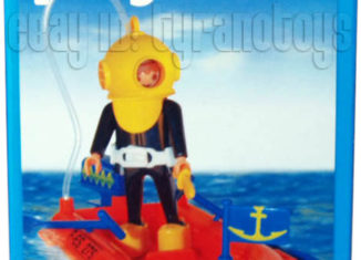 Playmobil - 9602v2-ant - Diver And Raft