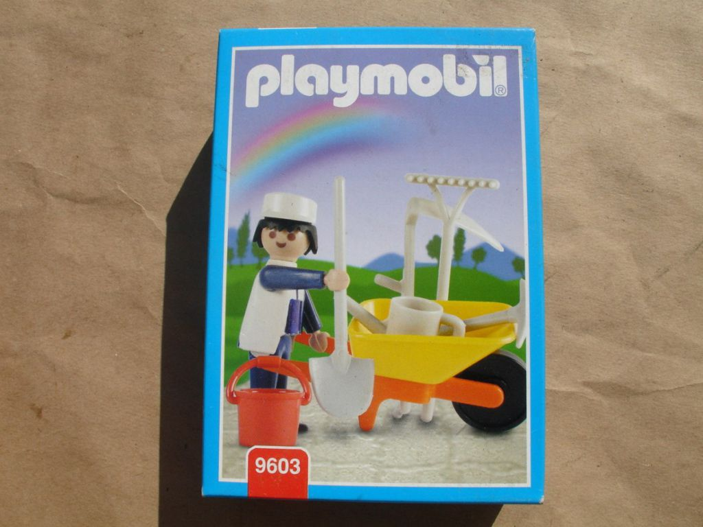 Playmobil 9603-ant - Gardner - Box