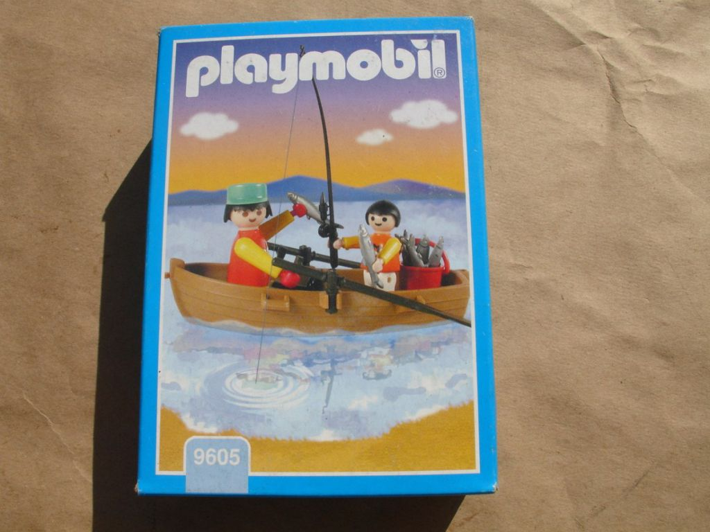 Playmobil 9605-ant - Fisherman and Son - Box
