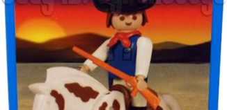 Playmobil - 1-9610-ant - Cowboy with Horse