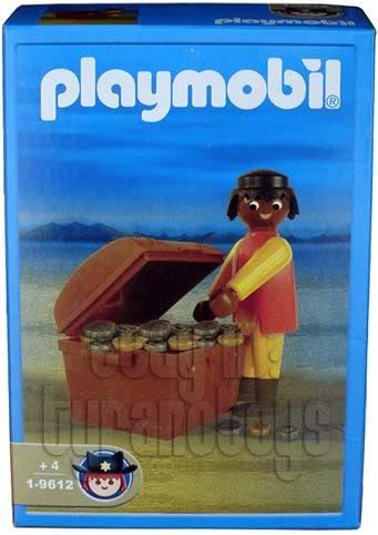 Playmobil 1-9612-ant - Native with Treasure - Box