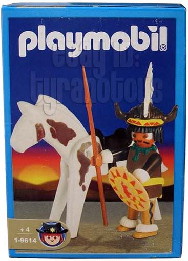 Playmobil 1-9614-ant - Indian Sorcerer with Horse - Box
