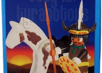 Playmobil - 1-9614-ant - Indian Sorcerer with Horse