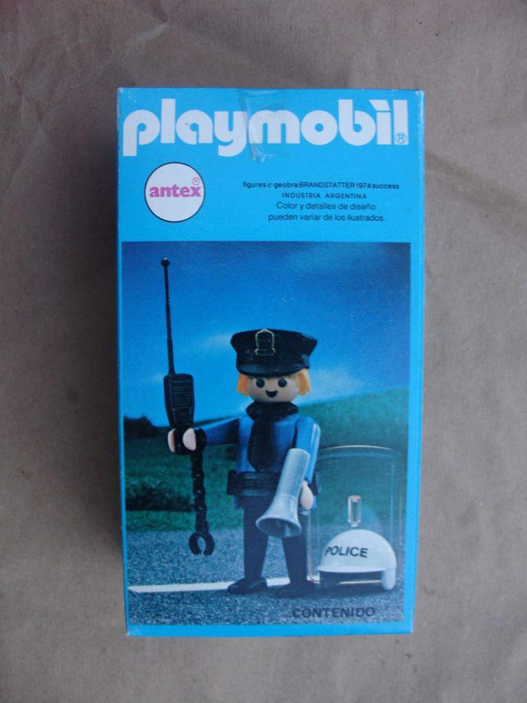 Playmobil 9743v1-ant - Policemen - Box