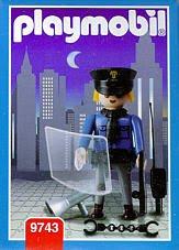 Playmobil 9743v2-ant - Policemen - Box