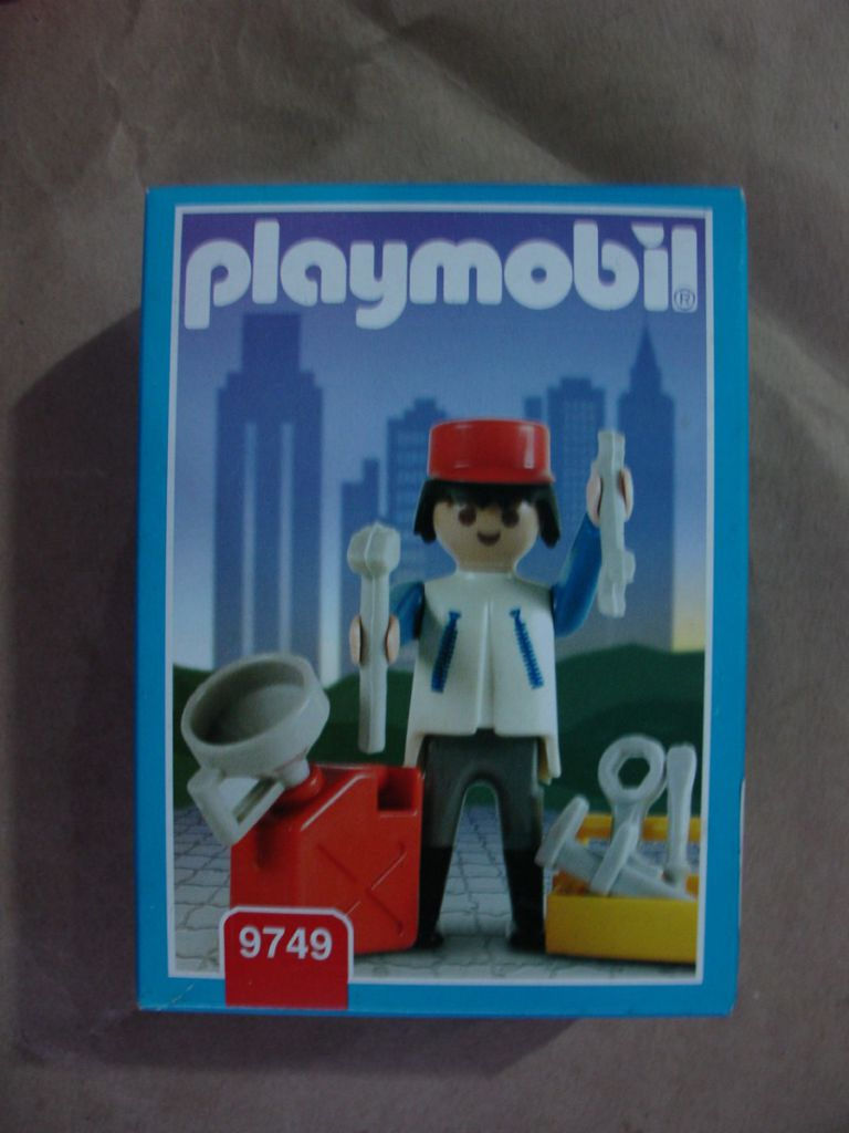 Playmobil 9749-ant - Mechanic - Box
