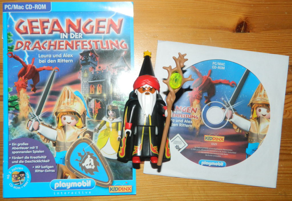 Playmobil 12029-ger - Captured in the Dragon Fortress - Back