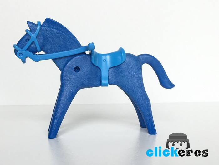 Playmobil 0000-ger - Blue Horse - Back
