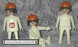 Playmobil 0000-ger - LUV Construction Worker - Back