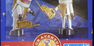 Playmobil - 0000v6-esp - Telepizza Give-away Astronauts