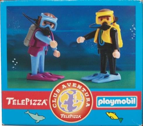Playmobil 0000v4-esp - Telepizza Give-away Scuba Divers - Box