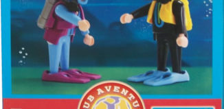 Playmobil - 0000v4-esp - Telepizza Give-away Scuba Divers